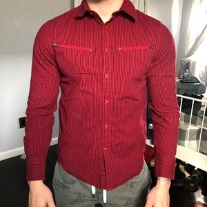 G by Guess Men's Button Down